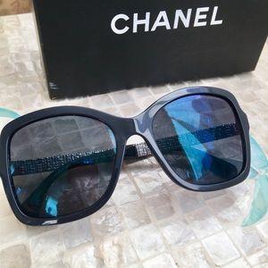 afd147489c CHANEL Accessories - CHANEL 5383 dark blue sunglasses